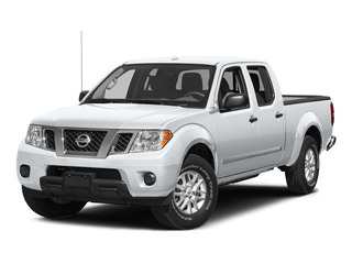 Glacier White 2015 Nissan Frontier Pictures Frontier Crew Cab S 2WD photos front view