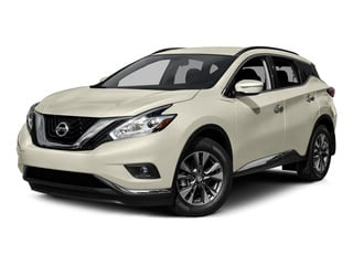 Pearl White 2015 Nissan Murano Pictures Murano Utility 4D SV 4WD V6 photos front view