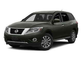 Midnight Jade 2015 Nissan Pathfinder Pictures Pathfinder Utility 4D S 4WD V6 photos front view