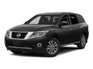 Magnetic Black 2015 Nissan Pathfinder Pictures Pathfinder Utility 4D S 4WD V6 photos front view