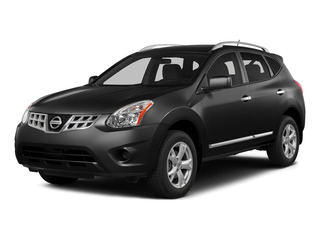 Super Black 2015 Nissan Rogue Select Pictures Rogue Select Utility 4D S 2WD I4 photos front view