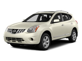Pearl White 2015 Nissan Rogue Select Pictures Rogue Select Utility 4D S 2WD I4 photos front view