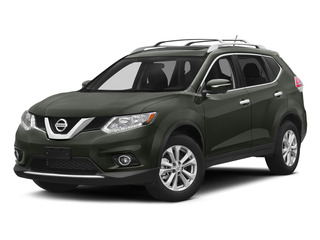 Midnight Jade 2015 Nissan Rogue Pictures Rogue Utility 4D SV AWD I4 photos front view