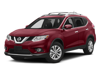 Cayenne Red 2015 Nissan Rogue Pictures Rogue Utility 4D SV AWD I4 photos front view