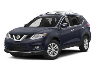 Arctic Blue Metallic 2015 Nissan Rogue Pictures Rogue Utility 4D SV AWD I4 photos front view
