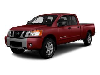 Cayenne Red 2015 Nissan Titan Pictures Titan Crew Cab PRO-4X 4WD photos front view
