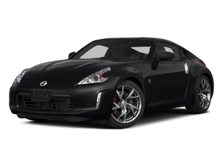 Magnetic Black Metallic 2015 Nissan 370Z Pictures 370Z Coupe 2D V6 photos front view