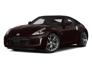 Black Cherry Metallic 2015 Nissan 370Z Pictures 370Z Coupe 2D V6 photos front view
