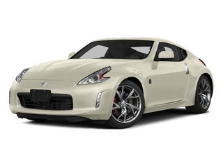 Pearl White 2015 Nissan 370Z Pictures 370Z Coupe 2D V6 photos front view