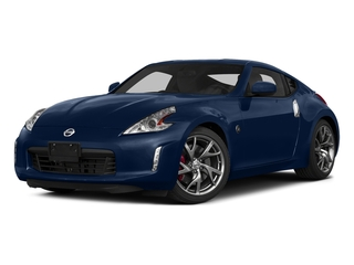 Midnight Blue Metallic 2015 Nissan 370Z Pictures 370Z Coupe 2D V6 photos front view