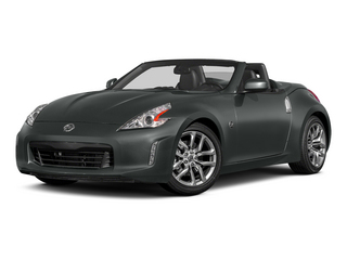 Gun Metallic 2015 Nissan 370Z Pictures 370Z Roadster 2D Touring Sport V6 photos front view