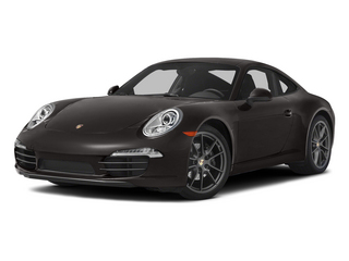 Anthracite Brown Metallic 2015 Porsche 911 Pictures 911 Coupe 2D H6 photos front view