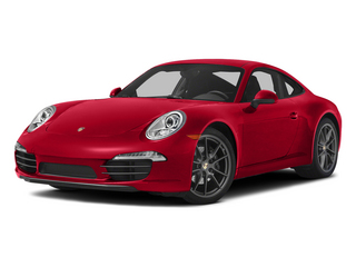 Guards Red 2015 Porsche 911 Pictures 911 Coupe 2D 4 AWD H6 photos front view