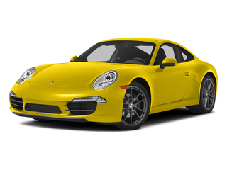 Racing Yellow 2015 Porsche 911 Pictures 911 Coupe 2D H6 photos front view