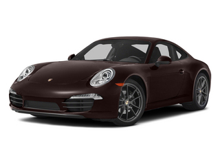 Mahogany Metallic 2015 Porsche 911 Pictures 911 Coupe 2D 4 AWD H6 photos front view