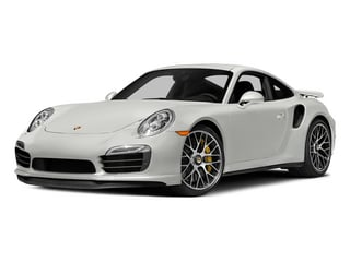 White 2015 Porsche 911 Pictures 911 Coupe 2D Turbo S AWD H6 photos front view