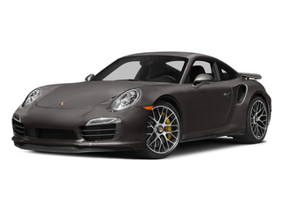 Anthracite Brown Metallic 2015 Porsche 911 Pictures 911 Coupe 2D Turbo S AWD H6 photos front view