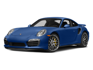 Sapphire Blue Metallic 2015 Porsche 911 Pictures 911 Coupe 2D Turbo S AWD H6 photos front view