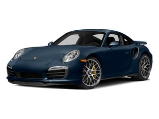 Dark Blue Metallic 2015 Porsche 911 Pictures 911 Coupe 2D Turbo S AWD H6 photos front view