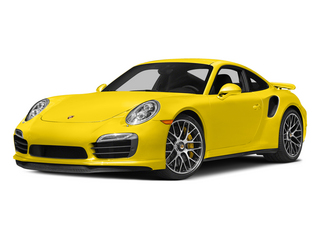 Racing Yellow 2015 Porsche 911 Pictures 911 Coupe 2D Turbo S AWD H6 photos front view