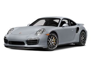 Rhodium Silver Metallic 2015 Porsche 911 Pictures 911 Coupe 2D Turbo S AWD H6 photos front view