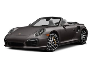Anthracite Brown Metallic 2015 Porsche 911 Pictures 911 Cabriolet 2D S AWD H6 Turbo photos front view