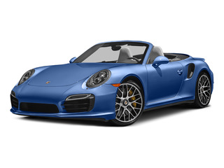 Sapphire Blue Metallic 2015 Porsche 911 Pictures 911 Cabriolet 2D S AWD H6 Turbo photos front view
