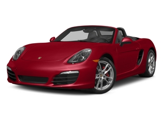 Carmine Red 2015 Porsche Boxster Pictures Boxster Roadster 2D S H6 photos front view