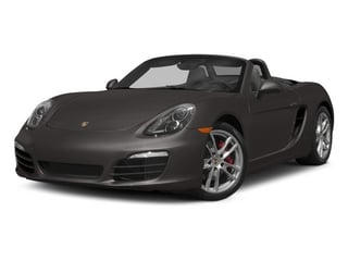 Anthracite Brown Metallic 2015 Porsche Boxster Pictures Boxster Roadster 2D S H6 photos front view