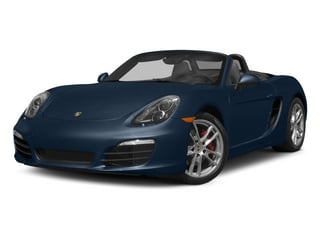 Dark Blue Metallic 2015 Porsche Boxster Pictures Boxster Roadster 2D GTS H6 photos front view