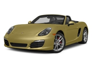 Lime Gold Metallic 2015 Porsche Boxster Pictures Boxster Roadster 2D S H6 photos front view