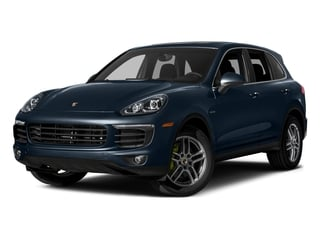 Moonlight Blue Metallic 2015 Porsche Cayenne Pictures Cayenne Utility 4D S V6 e-Hybrid AWD photos front view