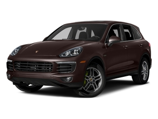 Mahogany Metallic 2015 Porsche Cayenne Pictures Cayenne Utility 4D S V6 e-Hybrid AWD photos front view