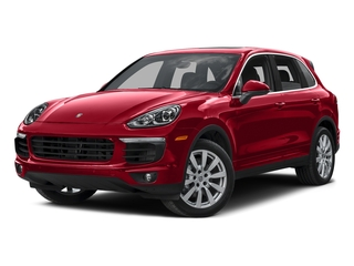 Carmine Red 2015 Porsche Cayenne Pictures Cayenne Utility 4D AWD V6 T-Diesel photos front view