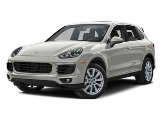 White 2015 Porsche Cayenne Pictures Cayenne Utility 4D AWD V6 T-Diesel photos front view