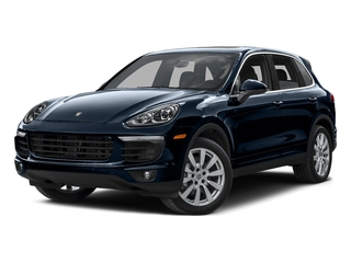 Moonlight Blue Metallic 2015 Porsche Cayenne Pictures Cayenne Utility 4D AWD V6 T-Diesel photos front view