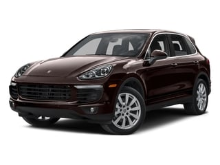 Mahogany Metallic 2015 Porsche Cayenne Pictures Cayenne Utility 4D AWD V6 T-Diesel photos front view