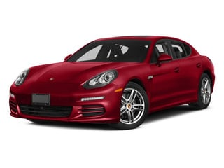 Carmine Red 2015 Porsche Panamera Pictures Panamera Hatchback 4D S Exec AWD V8 Turbo photos front view