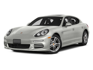White 2015 Porsche Panamera Pictures Panamera Hatchback 4D 4 AWD H6 photos front view