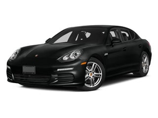 Jet Black Metallic 2015 Porsche Panamera Pictures Panamera Hatchback 4D S AWD V8 Turbo photos front view