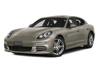 Palladium Metallic 2015 Porsche Panamera Pictures Panamera Hatchback 4D S Exec AWD V8 Turbo photos front view
