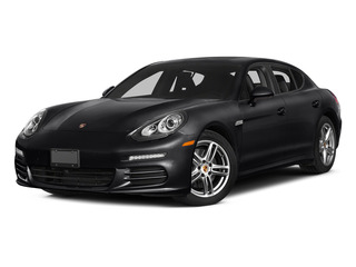 Black 2015 Porsche Panamera Pictures Panamera Hatchback 4D S Exec AWD V8 Turbo photos front view
