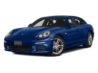 Sapphire Blue Metallic 2015 Porsche Panamera Pictures Panamera Hatchback 4D S Exec AWD V8 Turbo photos front view