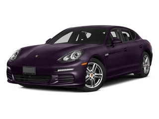 Amethyst Metallic 2015 Porsche Panamera Pictures Panamera Hatchback 4D S Exec AWD V8 Turbo photos front view