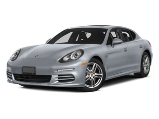 Rhodium Silver Metallic 2015 Porsche Panamera Pictures Panamera Hatchback 4D S Exec AWD V8 Turbo photos front view