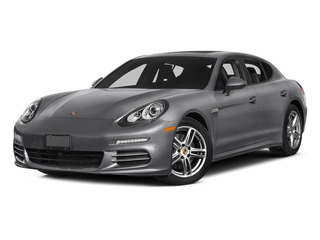 GT Silver Metallic 2015 Porsche Panamera Pictures Panamera Hatchback 4D S Exec AWD V8 Turbo photos front view