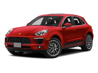 Impulse Red Metallic 2015 Porsche Macan Pictures Macan Utility 4D AWD V6 Turbo photos front view