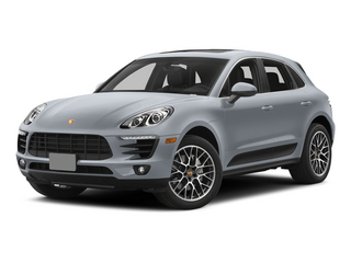 Rhodium Silver Metallic 2015 Porsche Macan Pictures Macan Utility 4D AWD V6 Turbo photos front view
