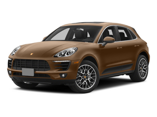 Aurum Metallic 2015 Porsche Macan Pictures Macan Utility 4D AWD V6 Turbo photos front view