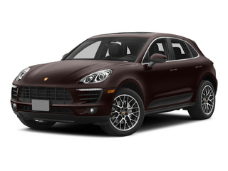 Mahogany Metallic 2015 Porsche Macan Pictures Macan Utility 4D AWD V6 Turbo photos front view